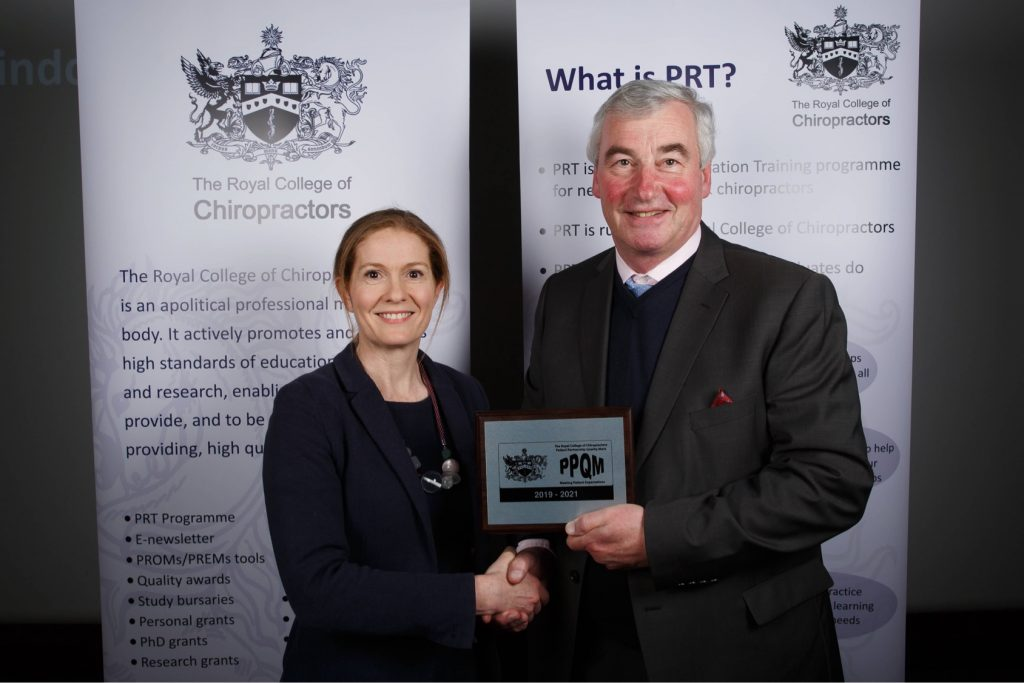 Rebecca-Willard-receiving-PPQM-award-2019